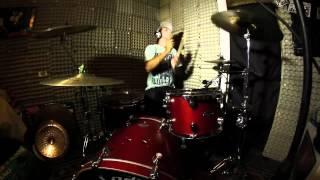Cosculluela - Click Clack (Drum Cover improvisado)