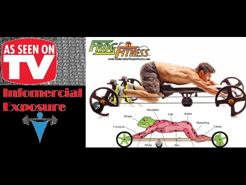 infomercial exposure the frog fitness youtube