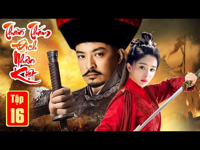 Phim Bộ Hay Nhất 2021  THẦN THÁM ĐỊCH NHÂN KIỆT PHẦN CUỐI - Tập 16   Kiếm Hiệp, Phá Án