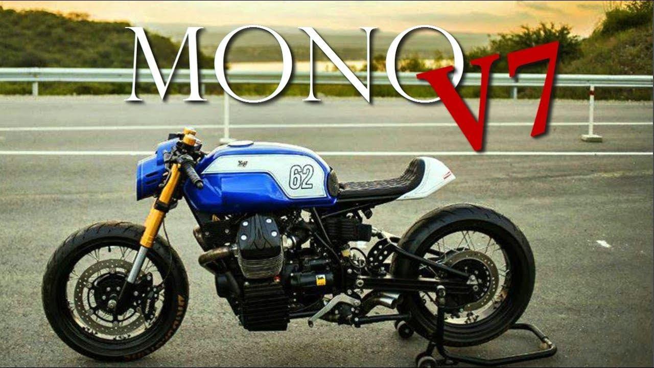 cafe racer moto guzzi v7 racer by lucky custom youtube. Black Bedroom Furniture Sets. Home Design Ideas
