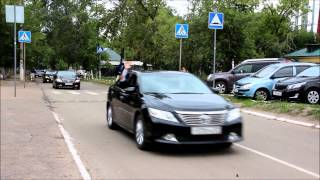 Свадебный кортеж в Орле (www.orelprazdnik.ru)