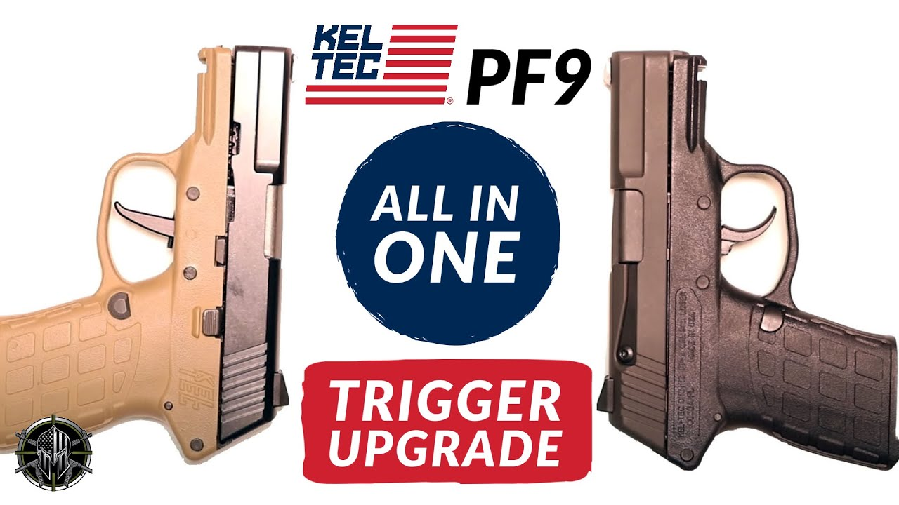 KEL TEC PF9 Trigger Upgrade to Reduce KEL TEC PF9 Trigger Pull - All In One  KEL TEC PF9 Trigger Job