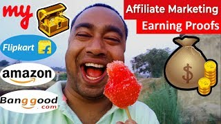 How much a Youtuber earns money from Affiliate marketing by gadget review channel    Earning proof