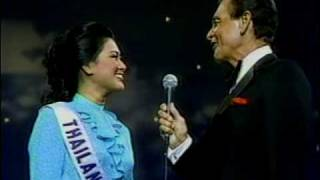 MISS UNIVERSE 1984 Top 10 Interview ( 1 / 2 )