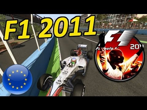 Lets Play F1 2011: European Grand Prix Valencia