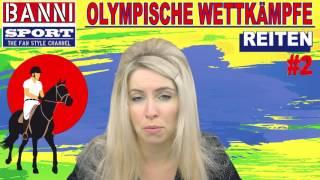 REITEN Horse Riding De Equitación #2 - Olympic Wettkampf - Original Banni Sport Fan Style & Make-up