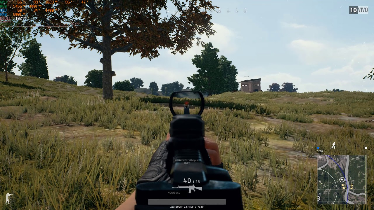PUBG GAMEPLAY ON-LINE