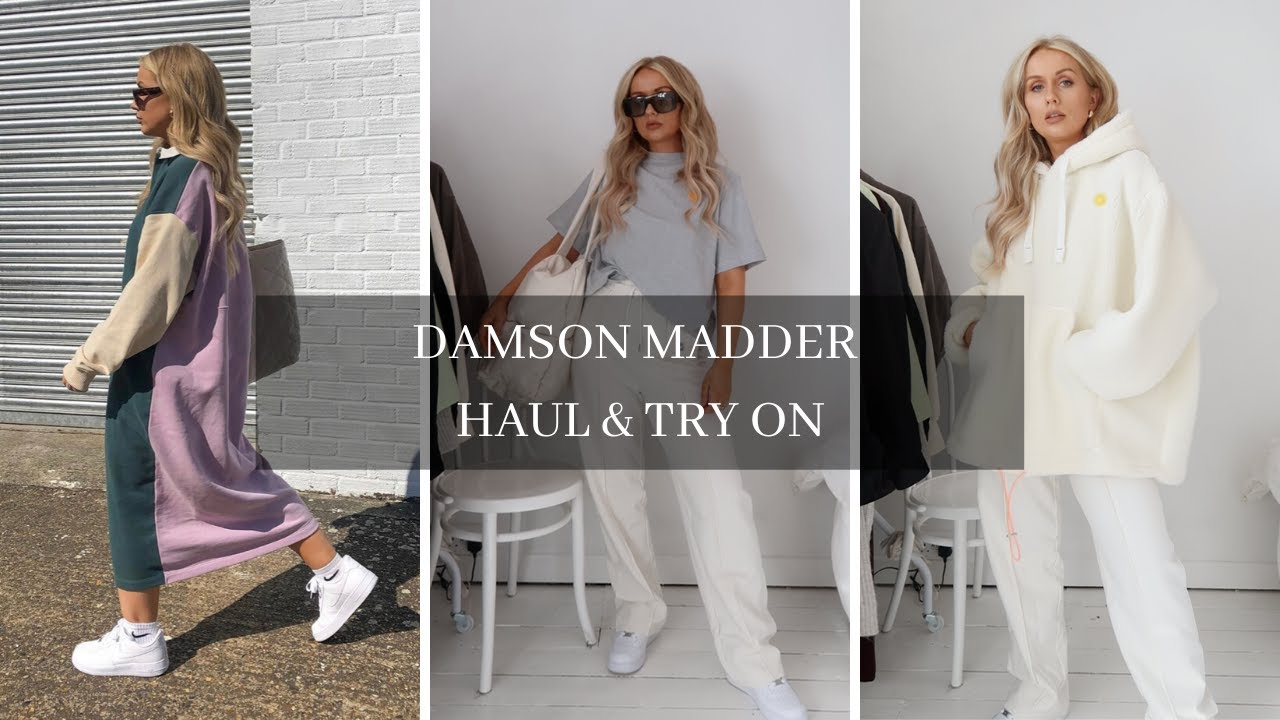 New sustainable brand on ASOS? Damson Madder Haul & Try On