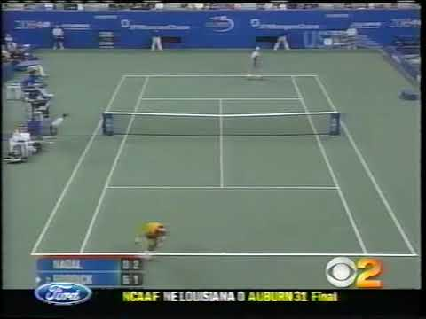 Nadal Vs Roddick Highlights US Open 2004