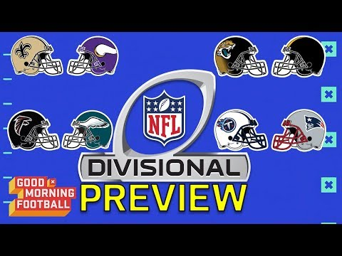 NFL Playoffs Divisional Round Preview   Good Morning Football   NFL Network