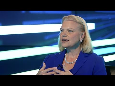 CEO Ginni Rometty Leads IBM With Big Bets