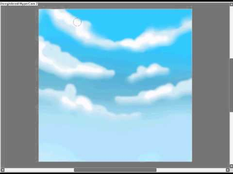 making a background  making a background paint tool sai - YouTube