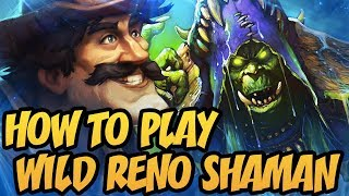 How To Play Wild Reno Shaman In 2K18?! | The Boomsday Project | Hearthstone