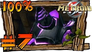 Metroid Prime [Trilogy | HD] 100% Walkthrough Part 7 | Phazon Mines, Power Bomb & Plasma Beam