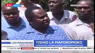 Tishio la maporomoko katika Kaunti ya Kakamega