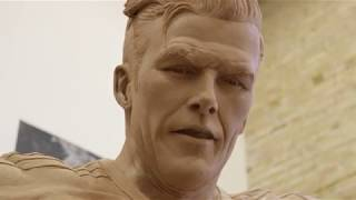 A Behind-the-Scenes Look at the making of David Beckham's statue   #BeckhamStatue