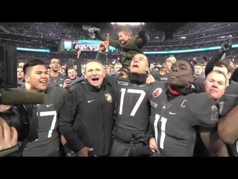 Army Football: Victory Celebration vs. Navy