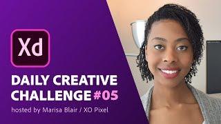 Adobe XD Daily Creative Challenge #05