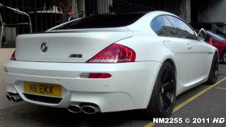 BMW M6 with Eisenmann Race Exhaust Accelerations and Revs!