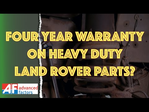 Common MOT Failure - Land Rover Discovery 2 Anti Roll Bar Linkages.