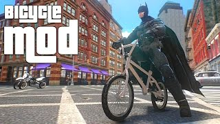 Grand Theft Auto IV - Gameplay BMX Bicycle [MOD] for GTAIV