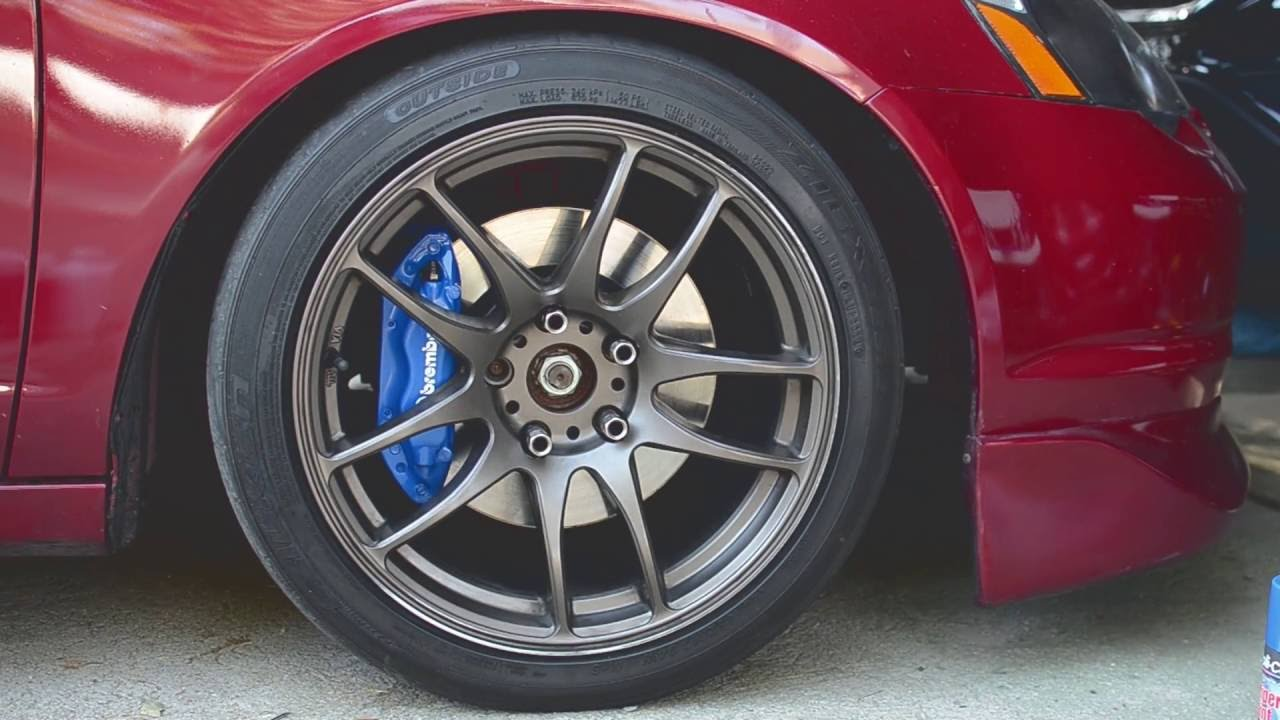How To Paint Brake Calipers Brembo Brakes Youtube