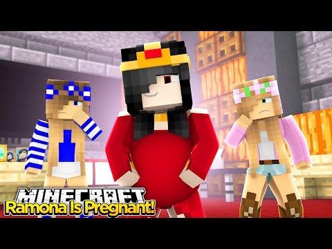 Minecraft - Little Kelly : EVIL STEPMOM RAMONA IS PREGNANT!