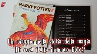 """""""Harry Potter. Un viaggio nella storia della magia"""" - Di cosa tratta il nuovo libro?"""