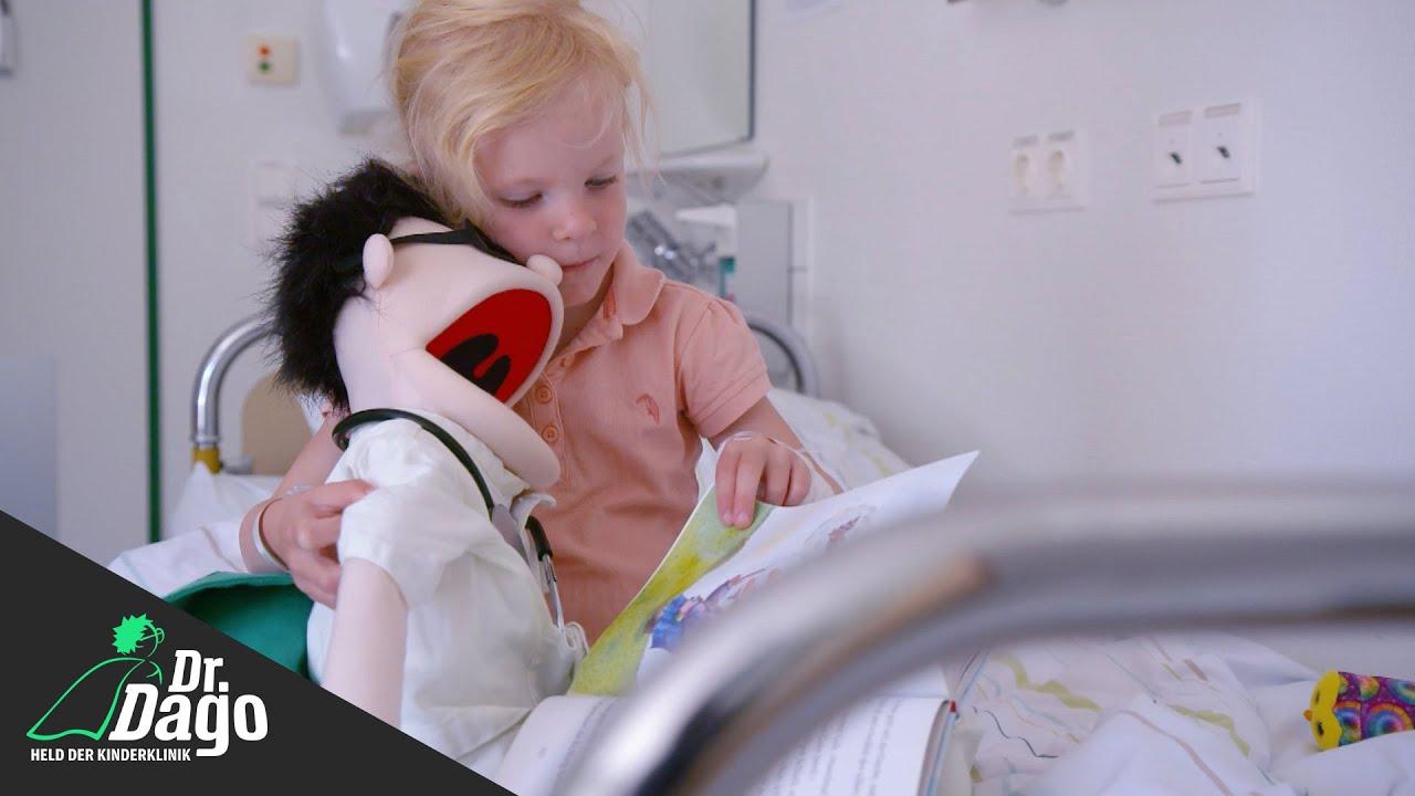 Narbenkorrektur bei der kleinen Maya (4) (Folge 4)   Dr. Dago - Held der Kinderklinik