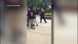 Student suspended for filming fight at her high school