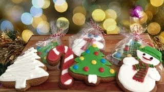 Christmas Cookies Gingerbread Recipe How To Cook That Ann Reardon Sugar Cookie Frosting