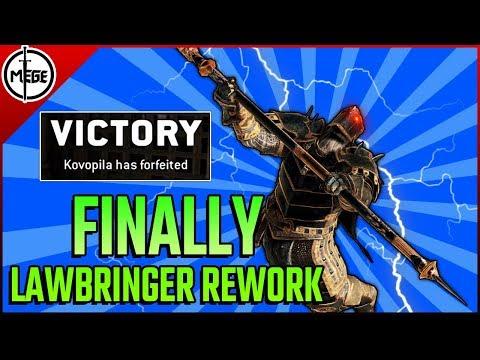 FINALLY, LAWBRINGER REWORK!! - Duels Gameplay [For Honor]