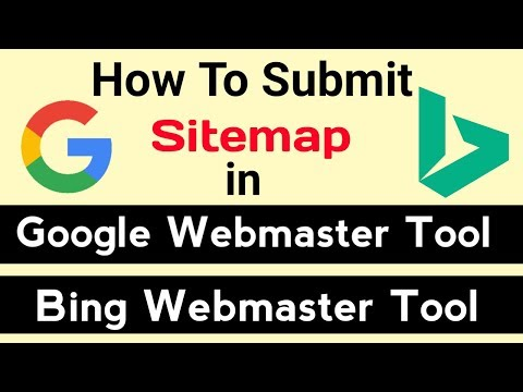 How To Generate and Submit Sitemap to Google & Bing webmaster tool [Hindi]