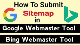 [Hintçe]Oluşturmak ve Google & Bing Web Yöneticisi aracı Site Haritası Gönderin nasıl