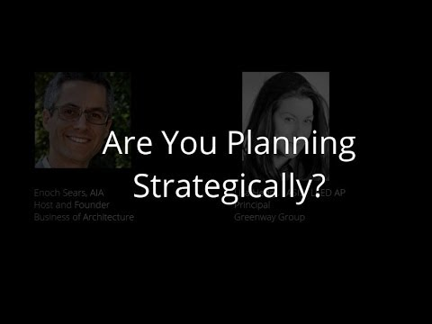 Strategic Planning for Architecture Firms
