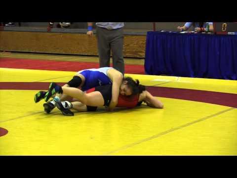 2015 Nordhagen Classic: 53 kg Kate Richey vs. Brittanee Laverdure