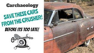 Carchaeology:  California Desert Car Hoard For Sale!