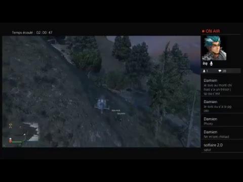[LIVE] [FR] [PS4] GTA ONLINE AIDER MOI A TROUVER LE TRÉSOR | FAIT TA PUB