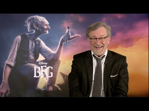 STEVEN SPIELBERG interview - THE BFG, JAWS, JURASSIC PARK, READY PLAYER ONE
