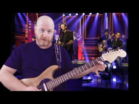 All About Tonight –Blake Shelton Guitar Lesson Intro Lead - How To Properly Play