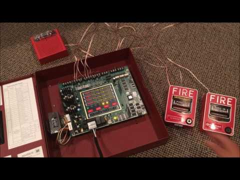 Unboxing and Startup of My New Fire Alarm Control Panel (Fire-Lite MS-4 Conventional Panel)
