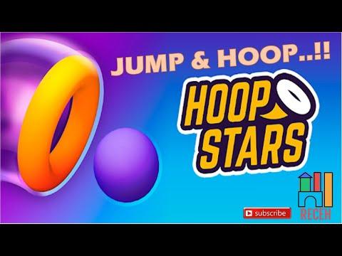 TUTORIAL HOOP STARS GAME | JUMP AND HOOP!! | Mobile Games 2020 |
