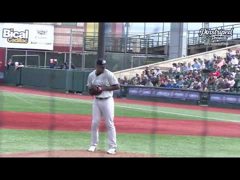Luis Severino, Right-Handed Pitcher, Hudson Valley Renegades, June 12, 2021, Rehab, Injury
