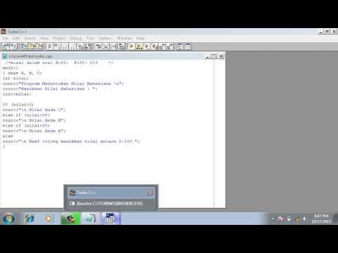 Cara C++ If Else