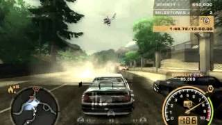 misi terahir NFS most wanted - last mission