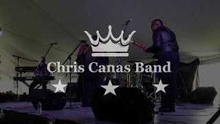 Chris Canas Band: Let The Good Times Roll LIVE at the Tawas Blues Festival 2018