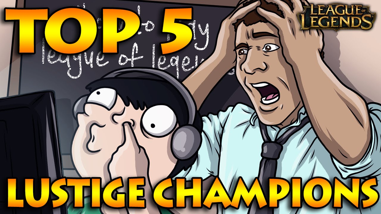 Top 5 Lustige Champions Zu Spielen Lol German Deutsch S6 German Deutsch