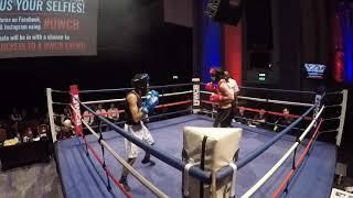 Ultra White Collar Boxing | London 15 12 18 R2 | Alex Bolton VS Kamran Ahmed