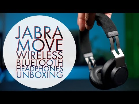 Unboxing Of The Best Bluetooth Headphones Under $50 Jabra Move Bluetooth Wireless Headphones