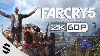 【極地戰嚎5】5小時電影剪輯版(中文字幕) - PC特效全開2K60FPS劇情電影 - 孤岛惊魂5 - Far Cry 5 All Cutscenes(Game Movie) - 最強2K無損畫質